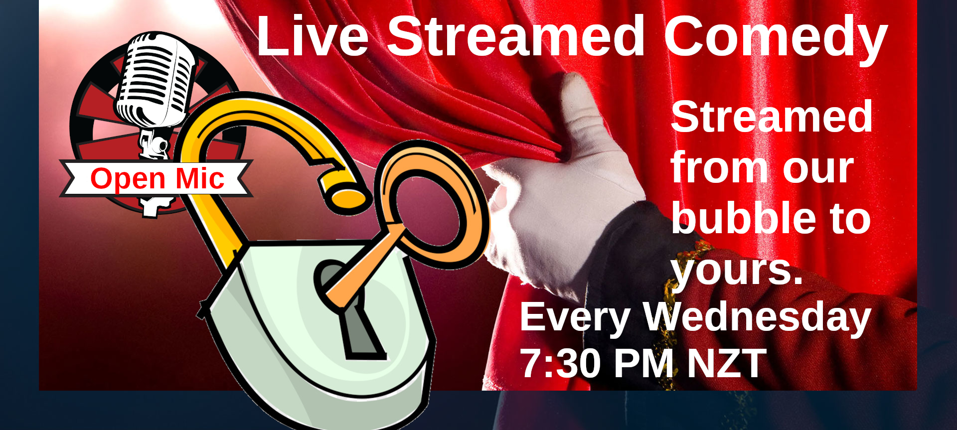 Live Streamed Comedy